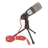 Microfone Sf 666 Condensador  Omnidirecional Preto