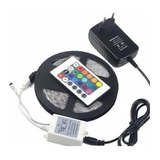 Cinta Led Rgb Luces Led Tiras Luz Led De Colores Strip 5m