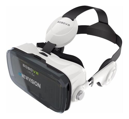 Realidad Virtual Vr Box Con Auricular 360 3d Lente Gafa Anteojo Para Celular