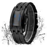 Reloj Electrónico Binario Con Luz Led Resistente Al Agua