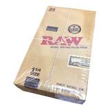 Caja Con 24 Pz De Papel Raw Classic 1 1/4 Liar Rolar Sabanas
