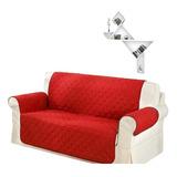 Protector Sofa, Forro, Mueble, Doble Faz 3 Puestos