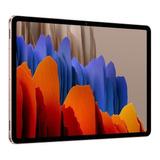 Tablet  Samsung Galaxy Tab S7 Sm-t875 11  256gb Mystic Bronze Com 8gb De Memória Ram