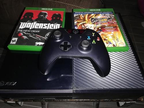 Xbox One De 500 Gb Con 2 Juegos