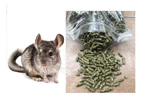 Alimento Prochin Chinchillas Cobayos Conejos Calidad 3 Kg