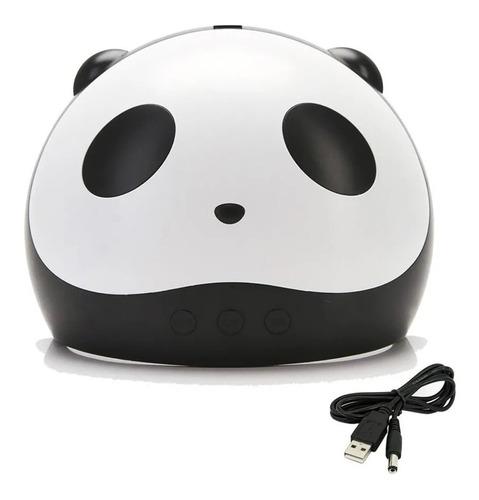 Cabina Uv Led Secador Uñas 3 En 1 Profesional 36w Panda Gel
