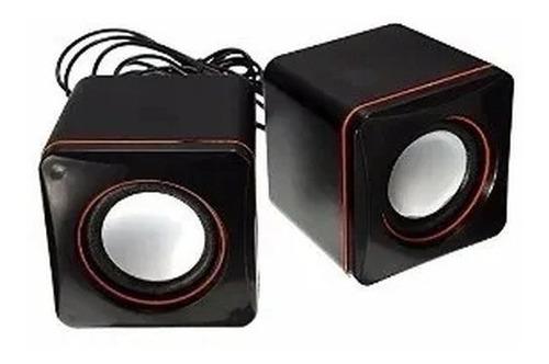 Caixa De Som Para Computador/notebook Mini Speaker Usb2.0