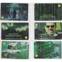 Série Completa Matrix Revolutions - 6 Cartões - Telefonica Original