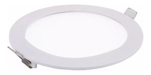 Panel Embutir Led 18w Spot Redondo Luz Blanco Calido O Frio