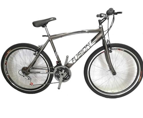 Bicicleta Todo Terreno Rin26 En Acero. 18 Velocidades Aro Dp