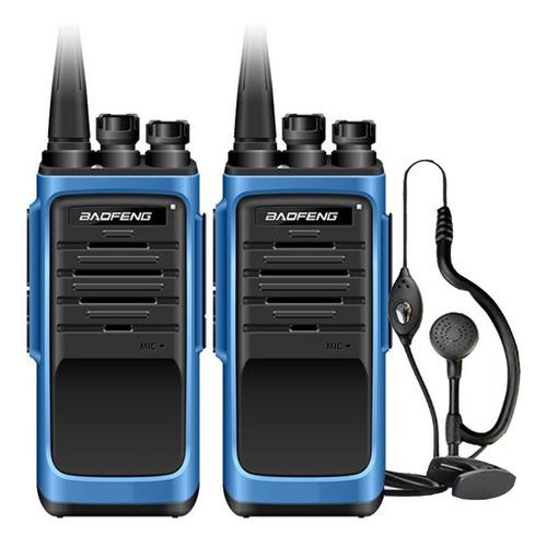 Kit X 2 Handy Baofeng Bf888s Max Radio Walkie Talkie Uhf Con Auricular