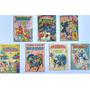 7 Gibis Superamigos Super Heróis Almanaque De Férias Abril Original