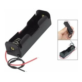 Porta Pilas Bateria 18650 Para Una Bateria - Pack 10 Unids