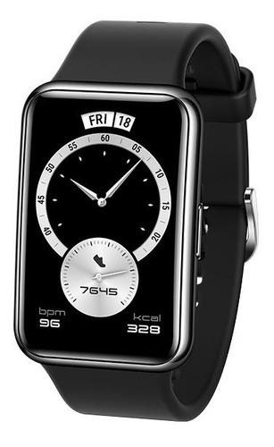 Smartwatch Huawei Watch Fit Edición Elegant, Amoled, Negro
