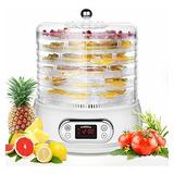 Deshidratador De Alimentos Máquina 400w 6 Bandejas De Ahorro