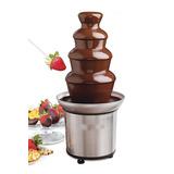 Fuente De Chocolate Cascada Para Fondue 4 Pisos