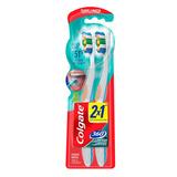 Cepillo Dental Colgate 360º Limpieza Completa De La Boca Suave Pack X 2