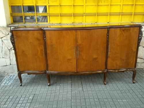 Antiguo  Mueble Aparador Estilo Frances Luis Xv  Indalecio