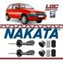 Par Amortecedor Dianteiro Uno 2006 2007 2008 Nakata + Kit Original