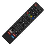 Controle Tv Philco Smart Tecla Netflix Globo Play You Tube