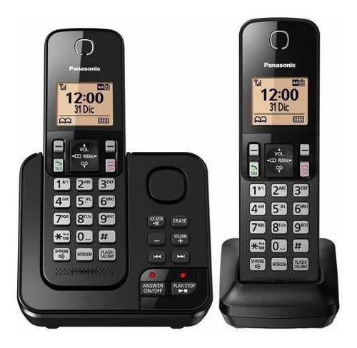 Telefono Panasonic Kx-tgc362 Duo Contestador