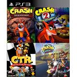 Crash Bandicoot 4 En 1 Ps3