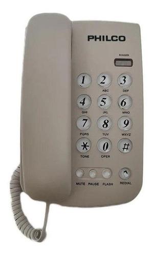 Teléfono Sobremesa Blanco Y Negro - Blanco