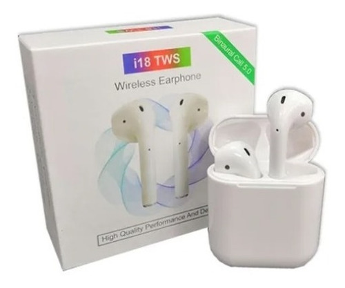 Audifonos Inalambricos Tws I18 Bluetooth 5.0