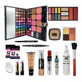 Combo Maquillaje Profesional Primer Rubor 78 Sombras Y Más!