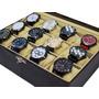 Kit C/ 10 Relógio Masculino Atacado + 10 Caixas + 10 Bate Original