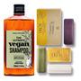 Shampoo Masculino Vegano Qod Barber + Sabonetes Natura Ekos Original