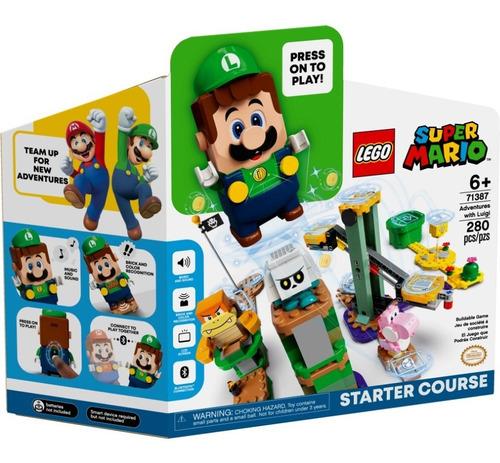 Lego Super Mario Aventuras Con Luigi