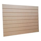 Panel Ranurado 120x90 Crudo - Ideal Para Personalizarlos