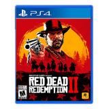 Red Dead Redemption 2 Formato Físico Ps4 Original