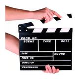 Claqueta Acción Para Cine Youtube  Instagram Videoclips