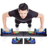 Tabla Abdominales Pecho Biceps Flexiones Musculación + 9en1