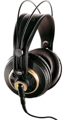 Auriculares Akg K240 Studio Profesional Semi Cerrado Nuevo!
