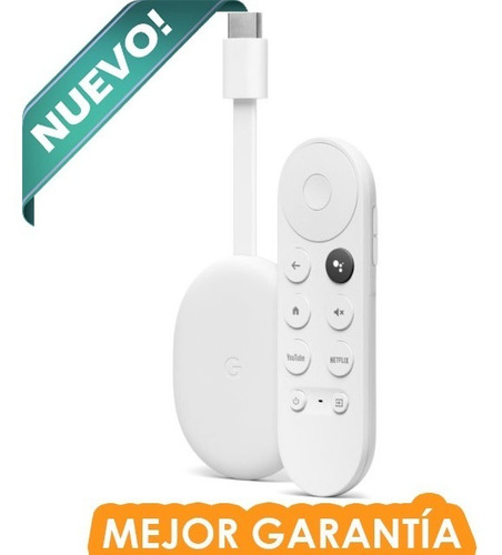 Google Chromecast 4 Tv Cuarta Generación 4k Hdr Modelo 2021