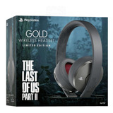 Auriculares Gold Ps4 The Last Of Us Ii Macrotec