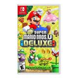 New Super Mario Bros. U Deluxe Standard Edition Nintendo Switch  Físico