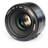 Lente Yongnuo 50mm F/1,8 (canon) - Garantía -