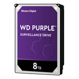 Disco Duro Interno Western Digital Wd Purple Wd80purz 8tb Púrpura