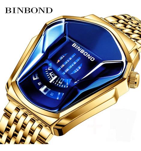 Binbond Reloj Hombre Tecnología Estudiante Locomotora