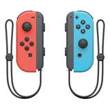 Set De Control Joystick Inalámbrico Nintendo Switch Joy-con (l)/(r) Rojo-neón Y Azul-neón