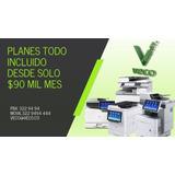 Alquiler Fotocopiadoras Multifuncionales Ricoh Medellin