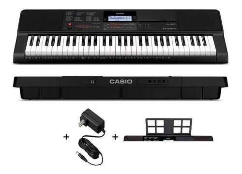 Casio Ct-x700 C/eli Teclado Portatil 61 Teclas Negro Msi