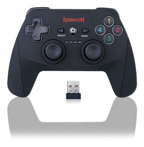 Gamepad Joystick Redragon Harrow G808 Pc Ps3 Usb