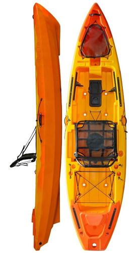 Kayak Hidro2eko Mako 110 Std Naranja - Kayaks Feelfree