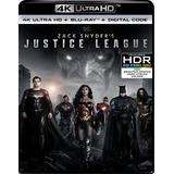 La Liga De La Justicia De Zack Snyder 4k Hdr, Digital!