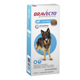 Antipulga Carrapato Bravecto Cães De 20 Kg A 40 Kg + Brinde